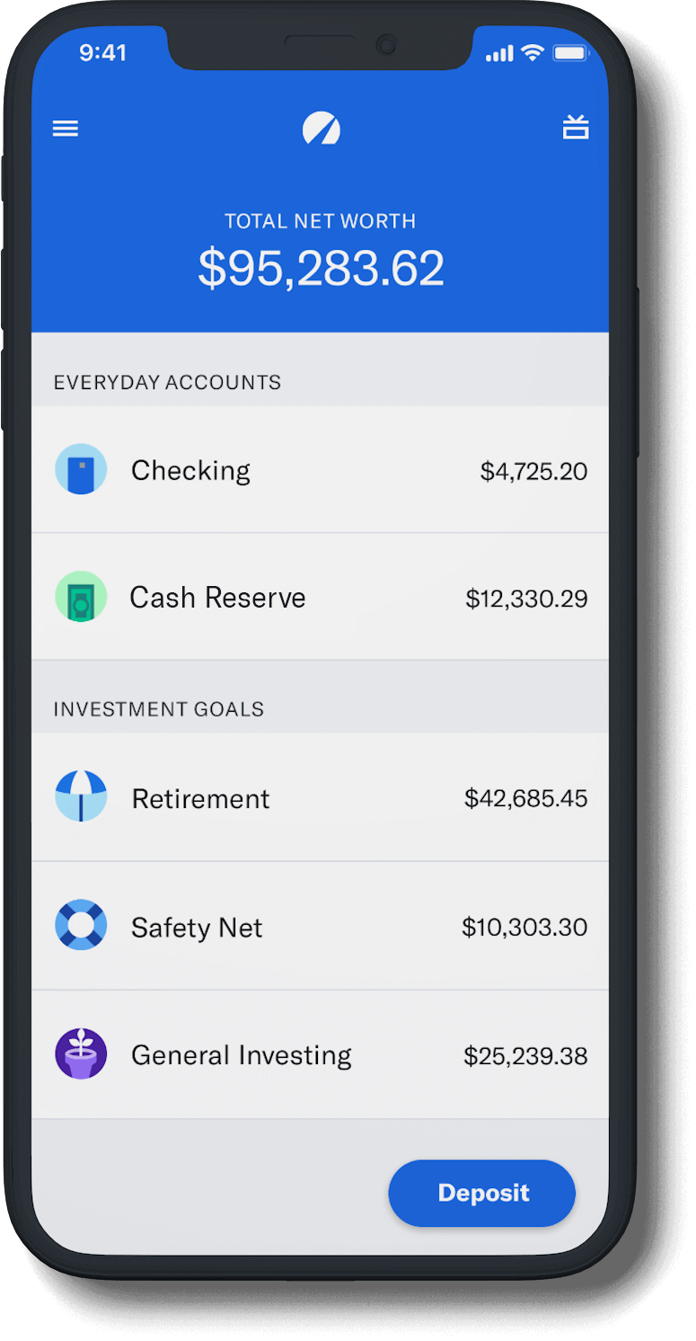 A smartphone displaying the app summary screen